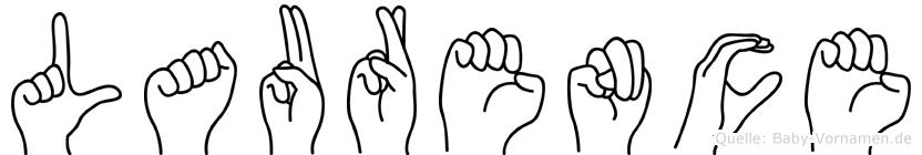 Laurence in Fingersprache für Gehörlose