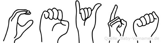 Ceyda in Fingersprache für Gehörlose