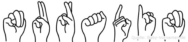 Nuradin in Fingersprache für Gehörlose