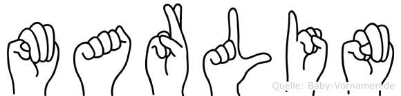 Marlin in Fingersprache für Gehörlose