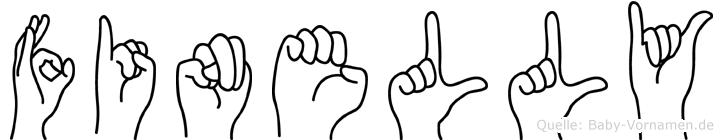 Finelly in Fingersprache für Gehörlose