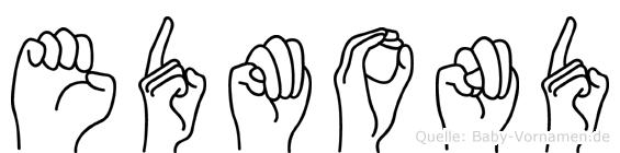 Edmond im Fingeralphabet der Deutschen Gebärdensprache