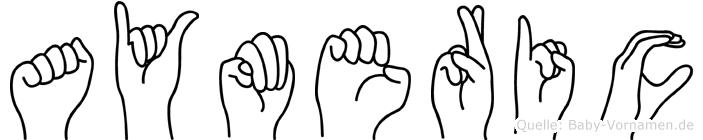 Aymeric in Fingersprache für Gehörlose