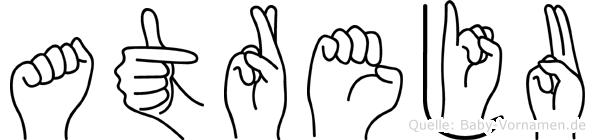 Atreju in Fingersprache für Gehörlose