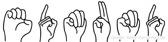 Edmund in Fingersprache für Gehörlose