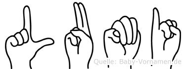 Lumi in Fingersprache für Gehörlose