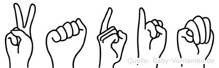 Vadim in Fingersprache für Gehörlose
