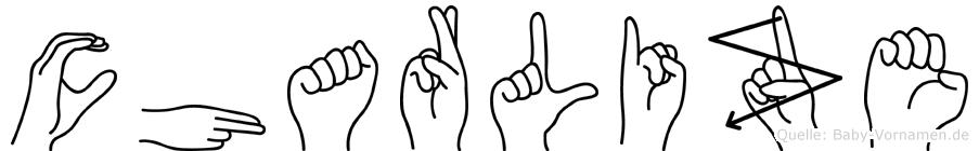Charlize in Fingersprache für Gehörlose