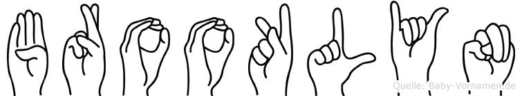 Brooklyn in Fingersprache für Gehörlose