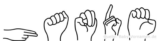 Hande in Fingersprache für Gehörlose