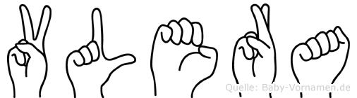 Vlera in Fingersprache für Gehörlose