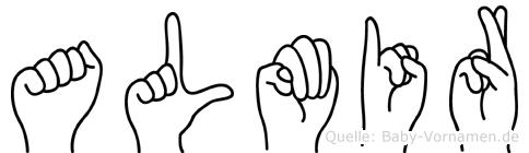Almir in Fingersprache für Gehörlose
