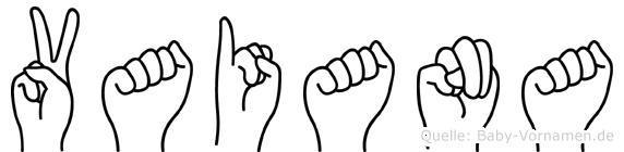 Vaiana in Fingersprache für Gehörlose