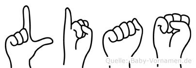 Lias in Fingersprache für Gehörlose