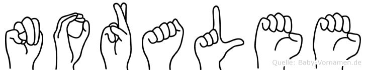 Noralee in Fingersprache f�r Geh�rlose