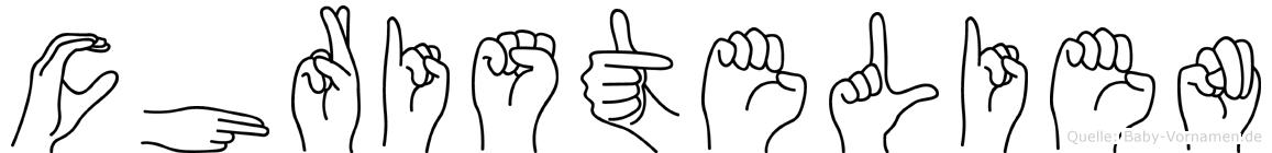 Christelien in Fingersprache für Gehörlose