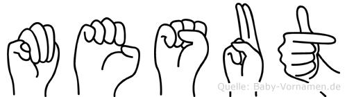 Mesut in Fingersprache für Gehörlose