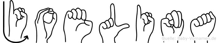 Joelina in Fingersprache für Gehörlose