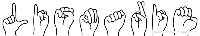 Lismarie in Fingersprache für Gehörlose