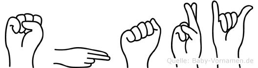 Shary in Fingersprache für Gehörlose