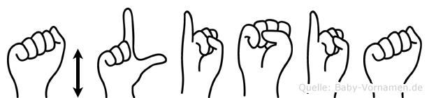 Älisia in Fingersprache für Gehörlose