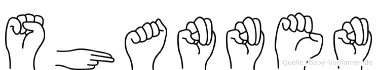 Shannen in Fingersprache für Gehörlose