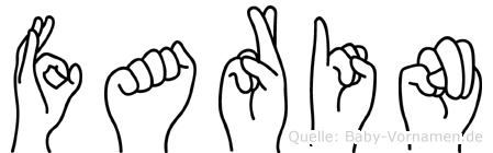 Farin in Fingersprache für Gehörlose