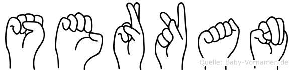 Serkan in Fingersprache für Gehörlose