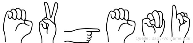 Evgeni im Fingeralphabet der Deutschen Gebärdensprache