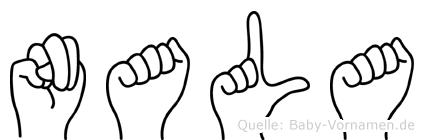 Nala in Fingersprache für Gehörlose