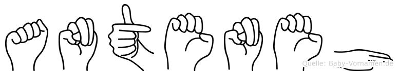 Anteneh in Fingersprache für Gehörlose