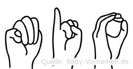 Mio in Fingersprache für Gehörlose