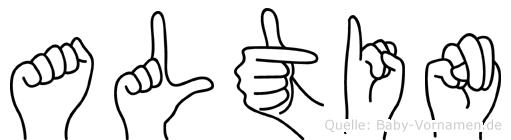 Altin in Fingersprache für Gehörlose