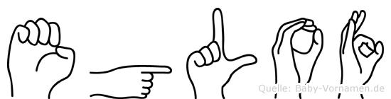 Eglof in Fingersprache für Gehörlose