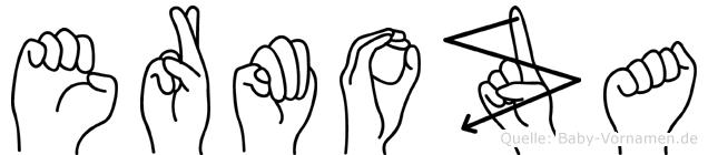 Ermoza in Fingersprache für Gehörlose