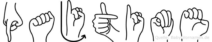 Pajtime in Fingersprache für Gehörlose