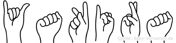 Yakira in Fingersprache für Gehörlose