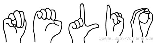 Nelio in Fingersprache für Gehörlose