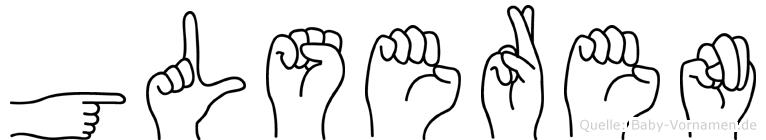Gülseren in Fingersprache für Gehörlose