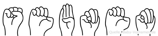 Sebnem in Fingersprache für Gehörlose