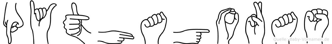 Pythagoras in Fingersprache für Gehörlose