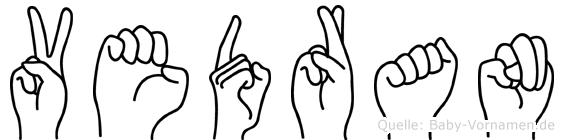 Vedran in Fingersprache für Gehörlose
