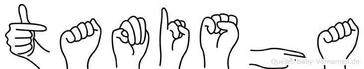 Tamisha in Fingersprache für Gehörlose