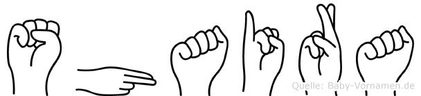 Shaira in Fingersprache für Gehörlose
