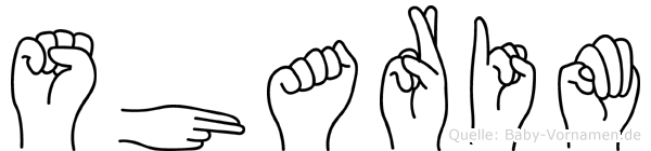 Sharim in Fingersprache für Gehörlose