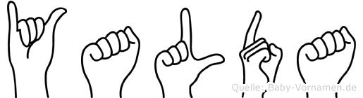 Yalda in Fingersprache für Gehörlose