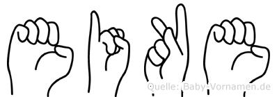 Eike in Fingersprache für Gehörlose