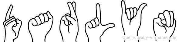 Darlyn in Fingersprache für Gehörlose