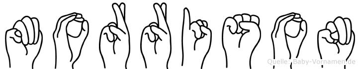 Morrison in Fingersprache für Gehörlose