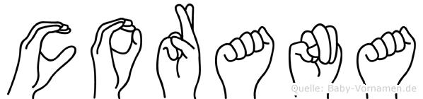 Corana in Fingersprache für Gehörlose
